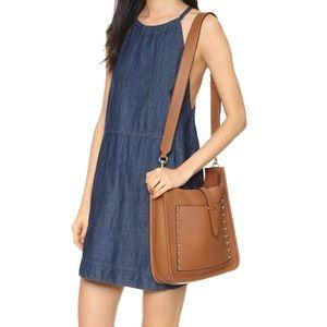 Rebecca minkoff large unlined feed shoulder bag